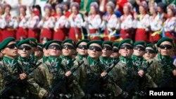 Парад в Киеве 24 августа
