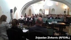 Prizor sa plenuma u Sarajevu, 15. april 2015.