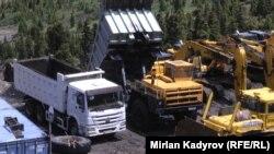 Угольный разрез Кара-Кече