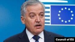 Глава МИД Таджикистана Сироджиддин Мухриддин