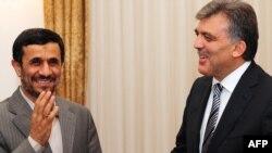 عبدالله گل و محمود احمدی نژاد