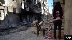 Алеппо шаарындагы оппозиция өкүлү