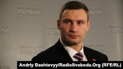 "Udar party leader Vitali Klitschko said Ukrainians ""should not be held hostage to politicians."""