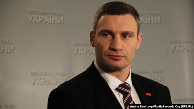 "Udar party leader Vitali Klitschko said Ukrainians ""should not be held hostage to politicians."""