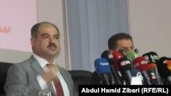 وزير صحة الاقليم ريكوت حمه رشيد في 24 شباط 2015
