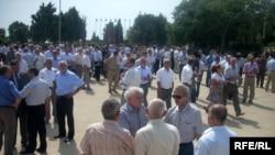 Ağdamlılar «Şəhidlər Xiyabanı»nda, 23 iyul 2009