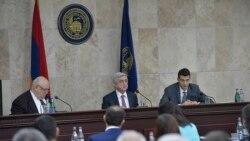 Սերժ Սարգսյան․ «Մենք որևէ խնդիր չունենք ուսանողների ակտիվության մասով»
