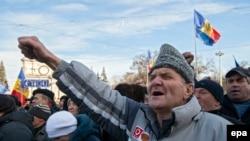 Moldova, etiraz dalğası, yanvar, 2016