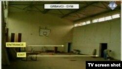 Dvorana škole gdje su držani zarobljenici