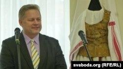Эвалдас Ігнатавічус адкрывае дні літоўскай культуры ў Магілёве