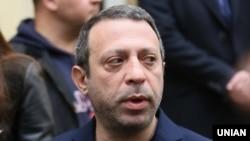 Геннадий Корбан, лидер политической партии УКРОП. 25 октября 2015 года.