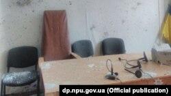 Приміщення Нікопольського суду після вибухів, 30 листопада 2017 року