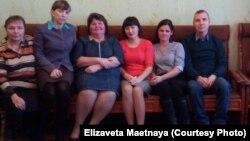 Учителя Звериноголовской школы, решившиеся на забастовку