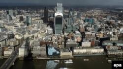 Лондон. Финансовый квартал Сити