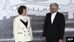سعید جلیلی در دیدار با کاترین اشتون