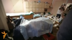 Medicii din Kiev despre moartea unui protestatar