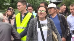 Как задерживали протестующих и журналистов в Алматы