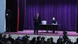 Վազգեն Մանուկյանը հայտարարում է՝ եթե սահմանադրական ճանապարհով չհասնեն վարչապետի հրաժարականին, կդիմեն ապստամբության