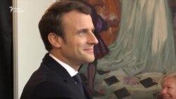 Кандидати у президенти Франції Марін Ле Пен і Емманюель Макрон голосують на виборах (відео)