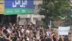 İranda seçkilərin nəticələrinə etiraz