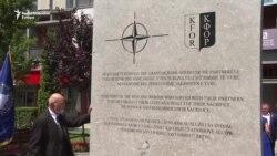 Priština: Otkriven spomenik KFOR-u