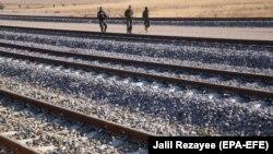 آرشیف، خط آهن در هرات