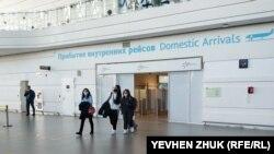 В аеропорту Сімферополя, архівне фото