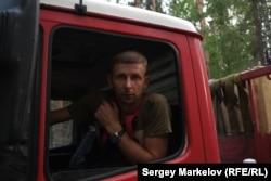 Максим, волонтер