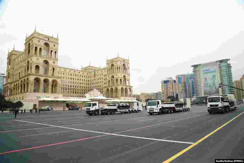 Парад пройдёт в центре Баку, на площади Свободы (Азадлыг)