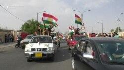 Курдите слават по референдумот за независност