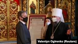 Митрополит Епіфаній зустрівся з держсекретарем США Блінкеном (фоторепортаж)