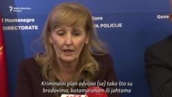 Crnogorsko tužilaštvo: Prekinut jedan 'kokainski lanac'