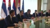 Susret Dodika i Vučića u Beogradu
