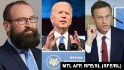 Szájer József, Joe Biden és Alekszej Navalnij.