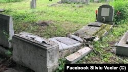 Jewesh cemetery in Ploiesti, June 5, 2021