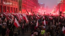 Officials, Nationalists Celebrate Poland's Centenary