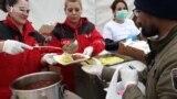 Konvoj pomoći za migrante u 'Vučjaku'