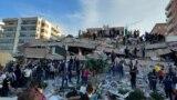 Potraga za preživelima u ruševinama u Izmiru