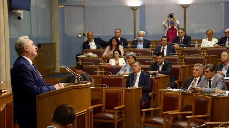 Krivokapićodbija da podnese ostavku iako nema podršku u Parlamentu