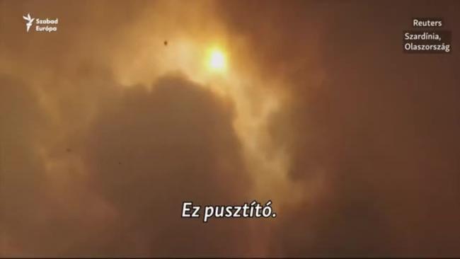 Pusztító tűzvészek, árvizek és homokvihar - ítéletidő világszerte