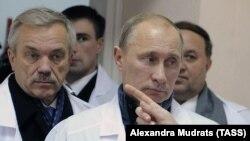 Евгений Савченко и Владимир Путин