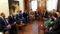 Рус депутатлари Дамашқда Башар Асад билан учрашди