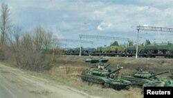 Росія стягнула військову техніку у Погоново у квітні і залишила її у таборі до вересневих навчань «Захід-2021»
