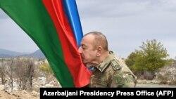 Ильхам Алиев в Агдаме. 23 ноября