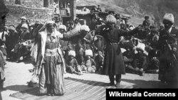 Лезгинская свадьба в начале 20 века