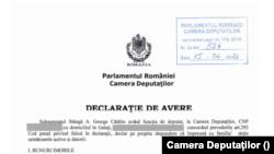 Fotogalerie - declarația de avere Cătălin George Stângă