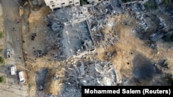 Pamje nga Gaza, pas luftimeve 11-ditore.