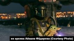 """Косплей сериала """"Звездные войны. Мандалорец"""" (архивное фото)"""