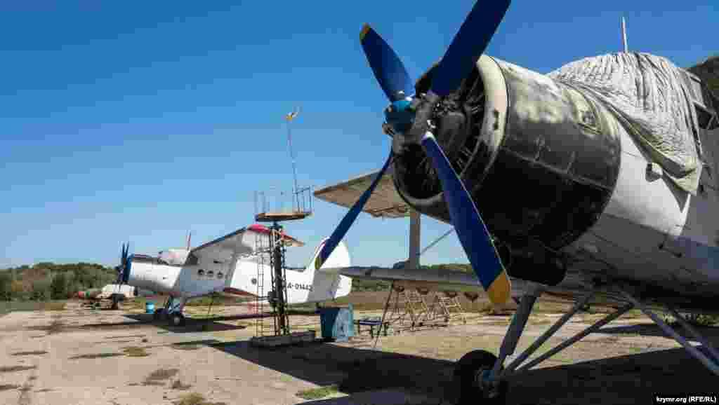 Один из старейших аэропортов Крыма «Заводское» раскинулся на юго-западной окраине Симферополя