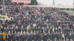 В Нардаране протетстуют запрету хиджаба